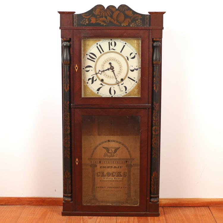 ORTON PRESTON & CO. CT SHELF CLOCK