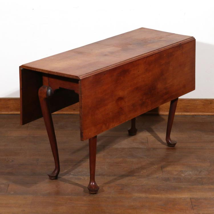 FEDERAL MAPLE DROP-LEAF GATE-LEG TABLE