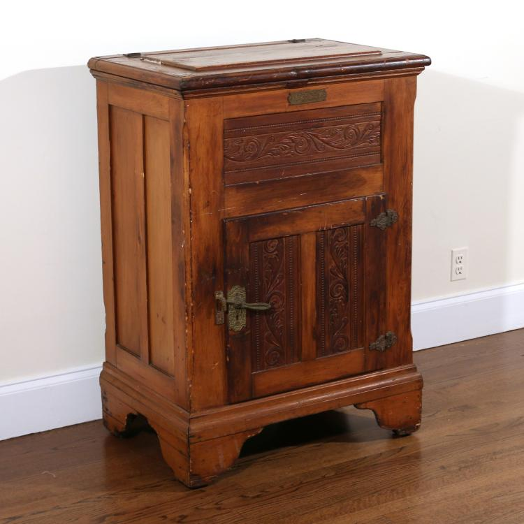 BALDWIN VERMONT OAK ICEBOX