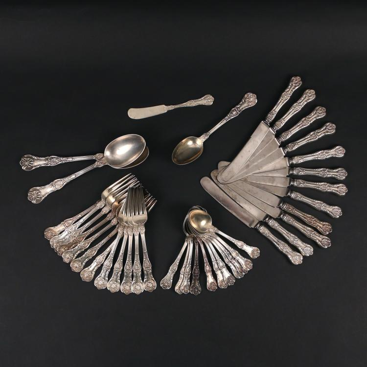 (39pc) GORHAM PARTIAL FLATWARE SERVICE