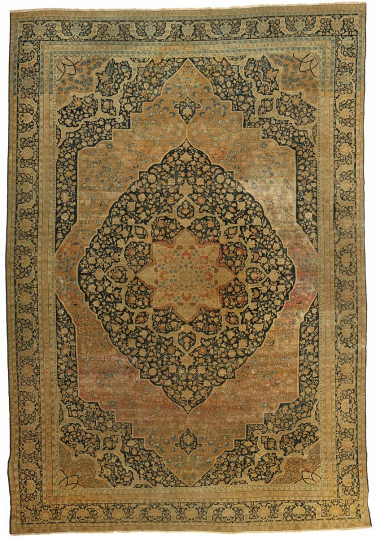 TABRIZ MEDALLION CARPET