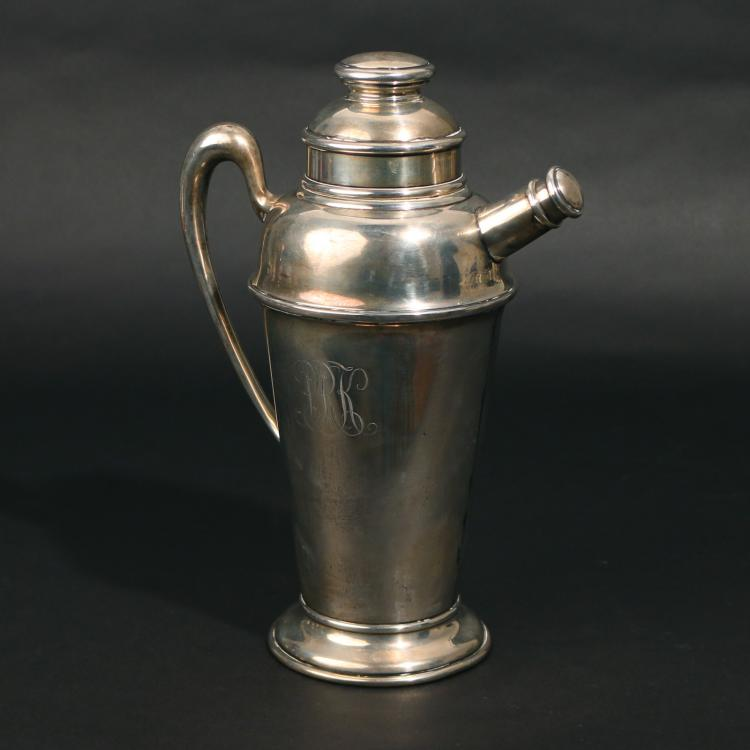 WHITING STERLING SILVER COCKTAIL SHAKER