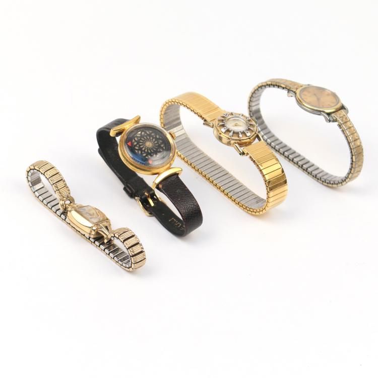 (4pc) LADY'S WRISTWATCHES
