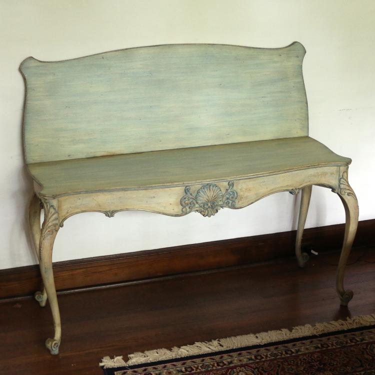ITALIANATE FLIP-TOP SIDE TABLE
