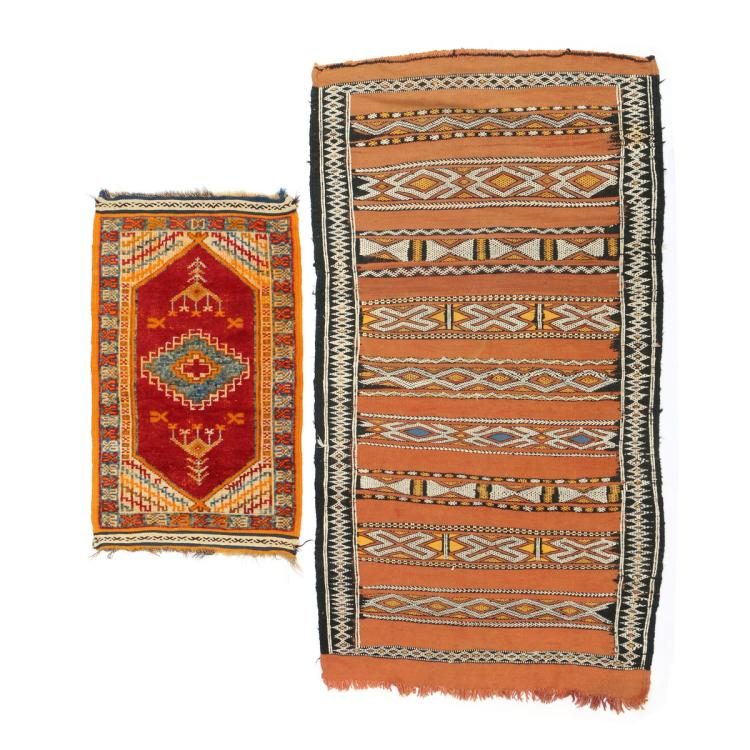 (2pc) MOROCCAN RUGS