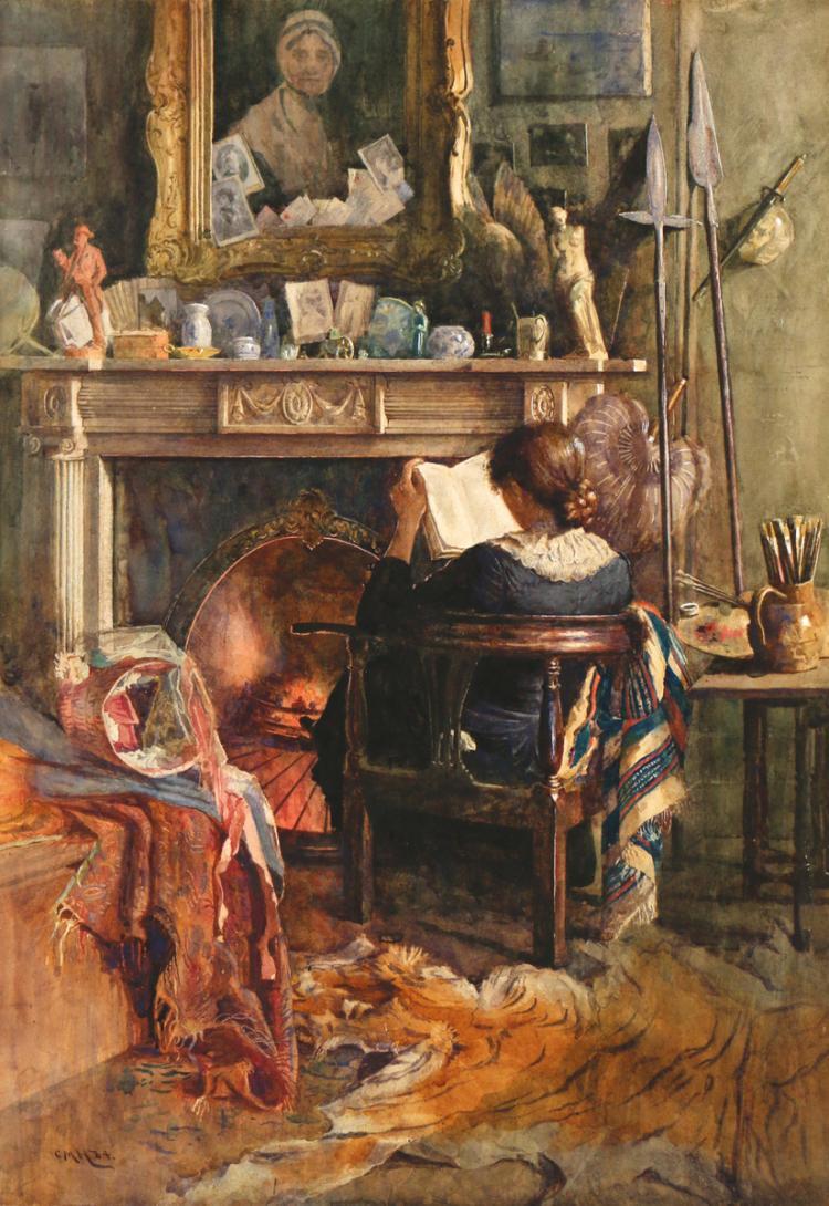 CHARLES MARTIN HARDIE (British, 1858-1916)