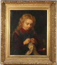 19TH C. CONTINENTAL SCHOOL PAINTING