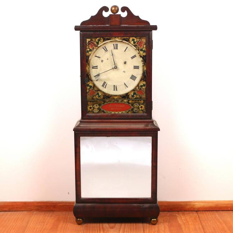 AARON WILLARD SHELF CLOCK