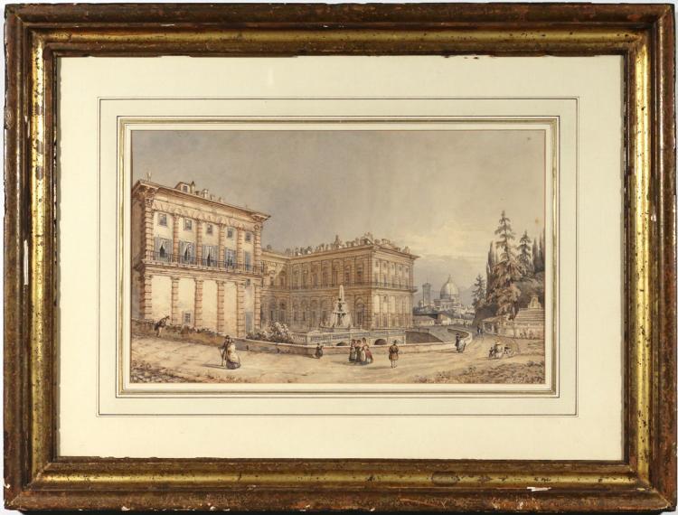 FRANZ ALT (Austrian, 1821-1914)