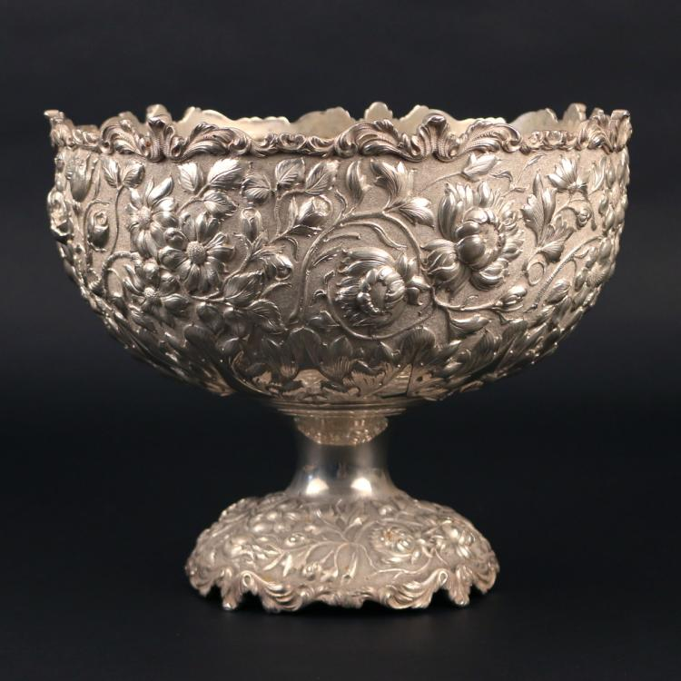 BALTIMORE STERLING SILVER CO. CENTRE BOWL