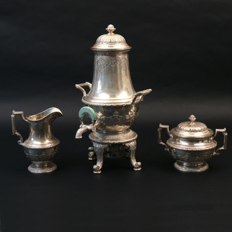 (3pc) GORHAM STERLING TEA SERVICE