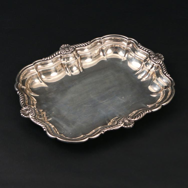 INTERNATIONAL STERLING SILVER TRAY