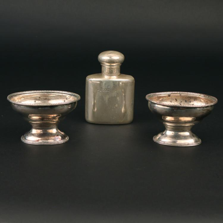 (3pc) MISC. ENGLISH SILVER