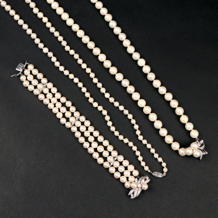 (3pc) PEARL JEWELLERY
