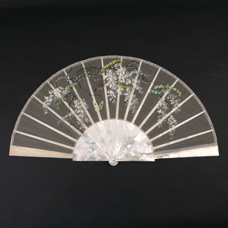 MOTHER- OF- PEARL HAND FAN