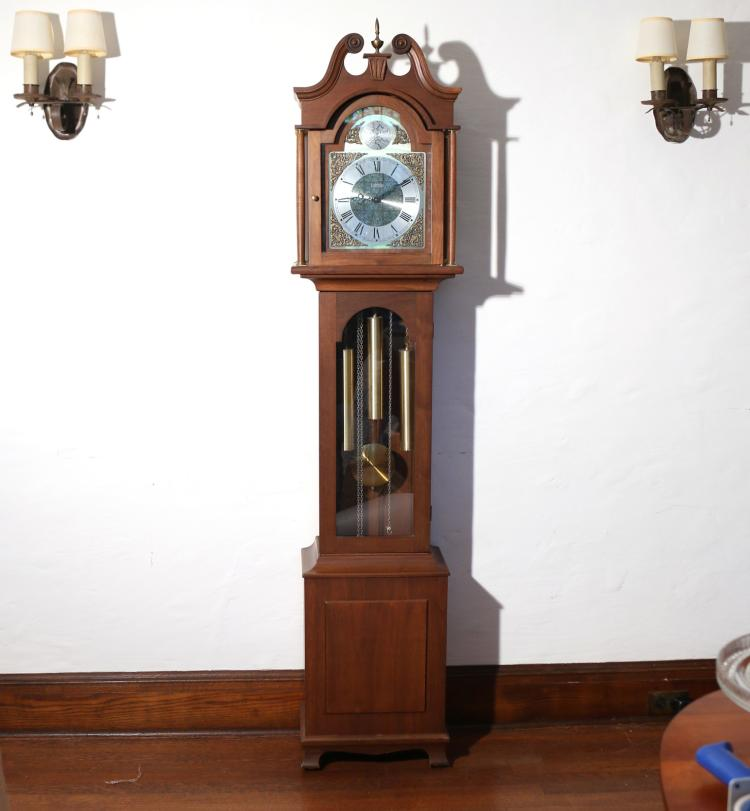 SETH THOMAS GRANDMOTHER'S CLOCK