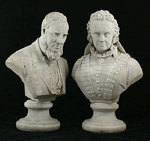 Thomas Nelson Maclean (1845-1894), pair of carved