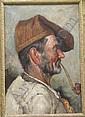 Vittorio Amadio (1934-d.unknown, Italian), Peasant, Vittorio Amadio, Click for value
