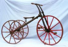 19th Century Rare Tricycle