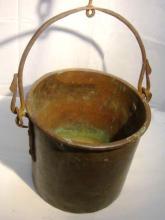 Civil War Copper Bucket