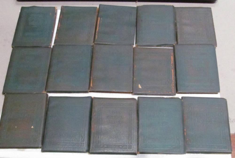 15-Little Leather Library Books 1920'S