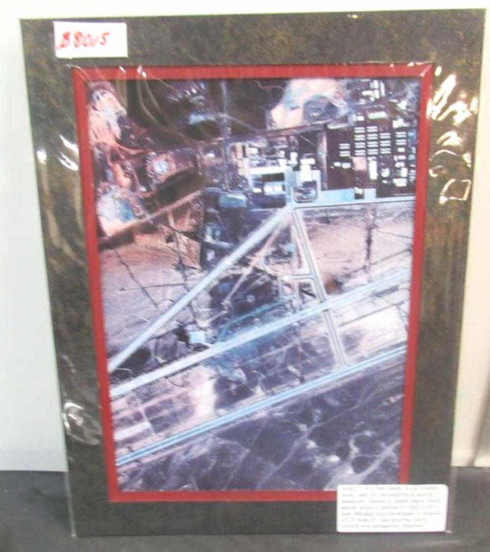 "Area 51 Us Military Print 18""X14"""
