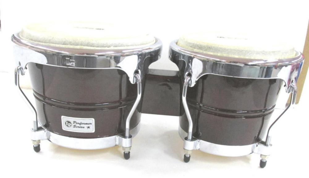 Pair Of Bongo Drums By LP Performance Series