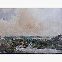 Arthur Bassett Waller (1882-1975): untitled rural