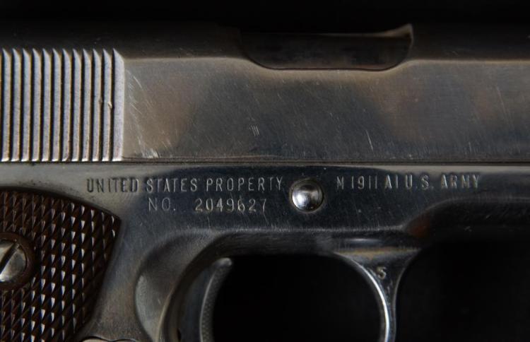 1944 Remington Rand 1911A1  45 ACP WWII #2049627