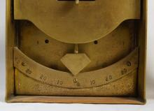 Soviet Antique Brass Diving Clinometer plus