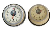 Two Vintage USSR Submarine Clocks