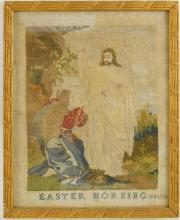 Early American Needlepoint - Christ has Risen