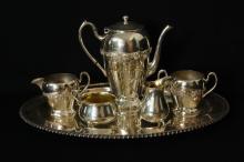 Fine Silver Plate tea service