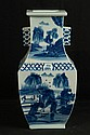 Blue & White Chinese Vase with Reign mark ~ 15