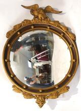 Bullseye mirror w eagle