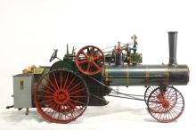 Case Live Steam traction model