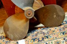 Antique Brass Ship's Propeller-Federal
