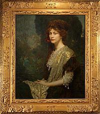 "Louis Loeb (1866 -1909) 30x24"" oil on canvas"