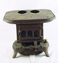 Salesman sample cast iron stove