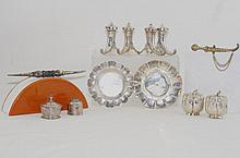S/P miniatures - horn a plenty, sterling pin, ...