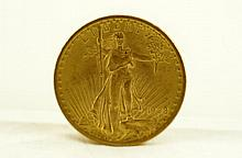 1908 Saint-Gaudens Walking Liberty 20 $ gold coin