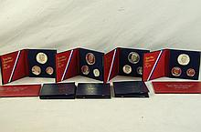 U.S. Bicentennial silver proof sets 1776-1976
