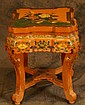 Chinese stand ca 1920's - hand painted