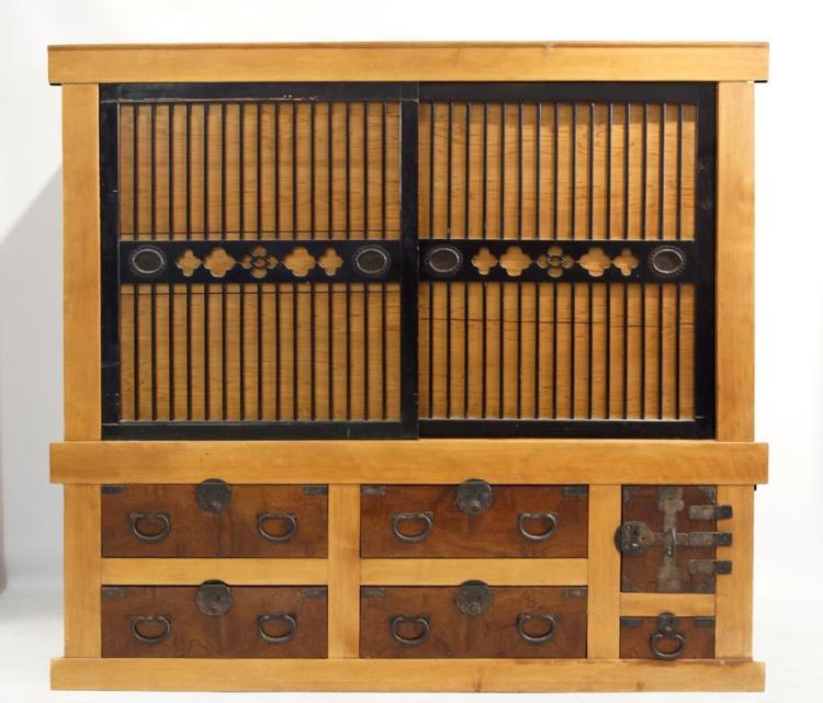 Japanese tansu chest circa 1890 for Asian furniture emeryville ca