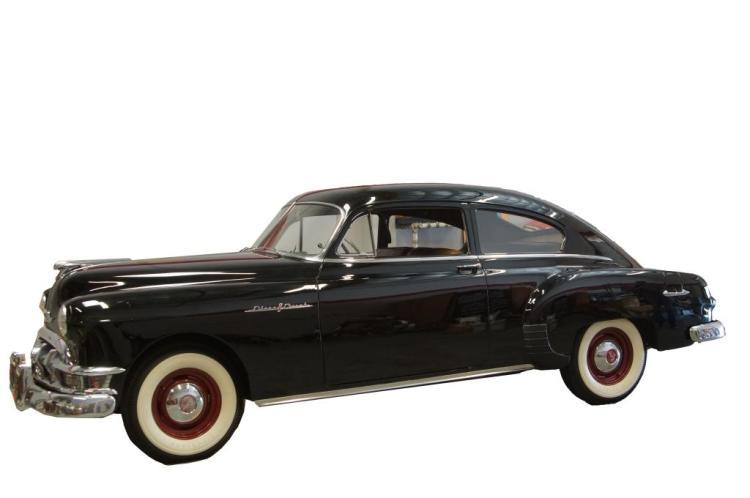 1950 pontiac 2 door streamliner 4 994 mi survivor for 1950 pontiac 2 door