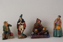 Royal Doulton figures - 5 pcs