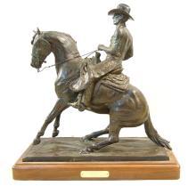 Jack Swanson Bronze Horse Statue