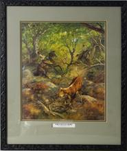 Jack Swanson (1927-2014) limited lithograph