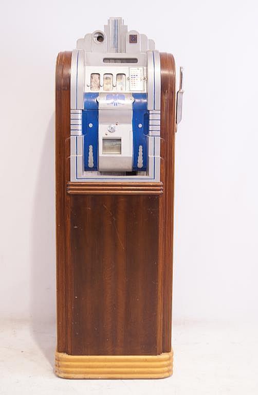 Mills 1933 Worlds Fair Art Deco Slot Machine
