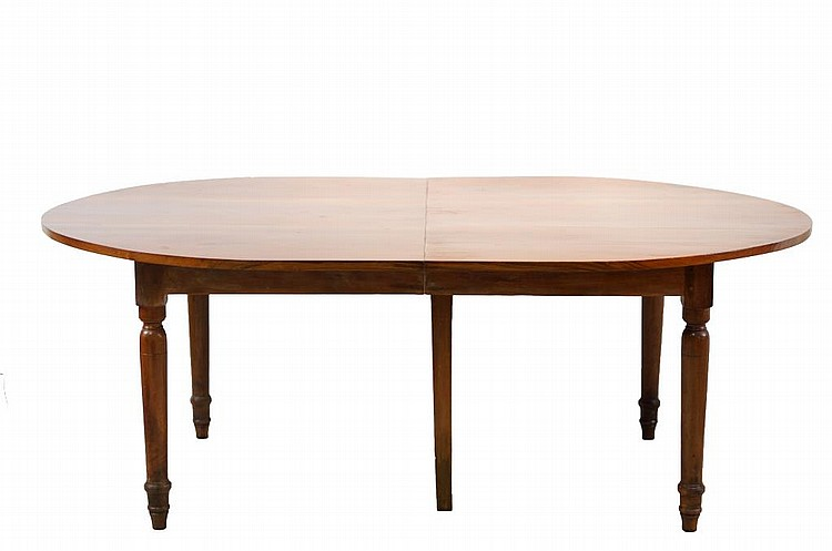 19th c. Country French mahogany table